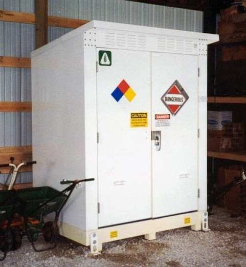 Chemical Storage Buildings And Containers By Benko
