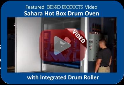 Featured Benko Products Video - Custom Drum Oven