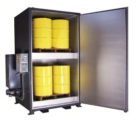 Electric Drum Heaters | Tote Heaters Model EV8