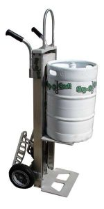 The Erg-O-Cart Ergonomic Beverage Cart by Benko Products