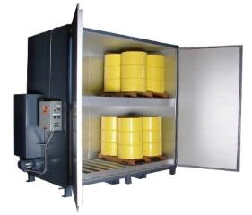 'Sahara Hot Box' Model S16 - Steam Drum Heater