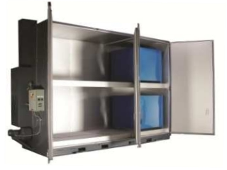 'Sahara Hot Box' Model S24 - Steam Drum Heater