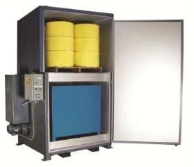 'Sahara Hot Box' Model SV8 - Steam Powered Drum Heater