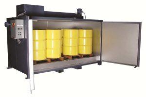 'Sahara Hot Box' Model E8 Electric Drum Heater