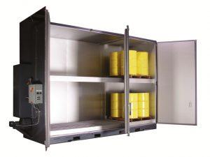 Steam Hot Box Model S24   Drum Heater   Drum Oven   By Benko