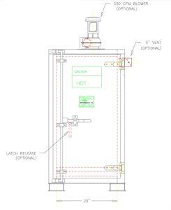 Steam Drum Heater Model S1 - CAD