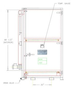 'Sahara Hot Box' Model SV8 - Steam Drum Heater - CAD