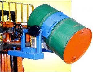 Morse Forklift-Karriers convert your fork truck into a drum handler