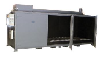'Sahara Hot Box' Model S12 - Electric Drum Heater
