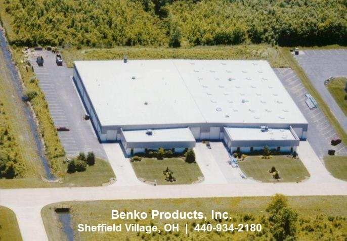 Benko Product's Plant in Sheffield Village, OH 44054
