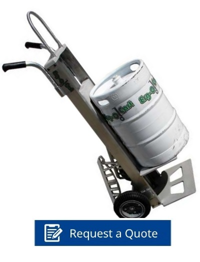 A Revolutionary Ergonomic Beverage Cart
