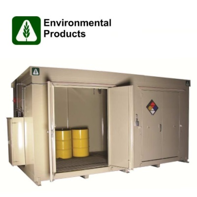 Chemical Storage Buildings and Containers by Benko Products Inc