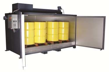 Electric Drum & Tote Ovens