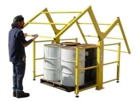 Mezzanine Safety Gates – Industrial Safety Gates – Swing