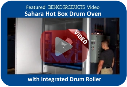 Featured Benko Products Video - Custom Drum Oven