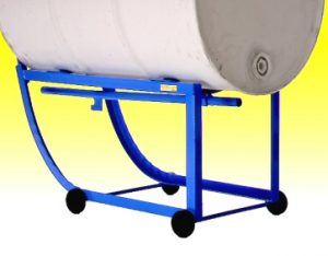 Drum Cradles to move and position drum