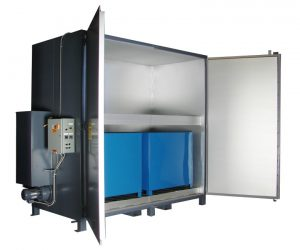 'Sahara Hot Box' Model E16 Electric Drum/Tote Heater
