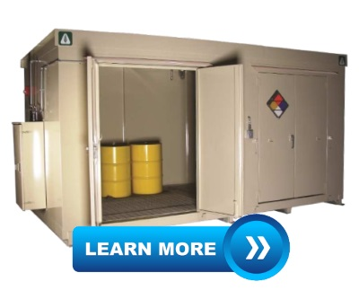 Chemical-Storage Buildings by Benko Products