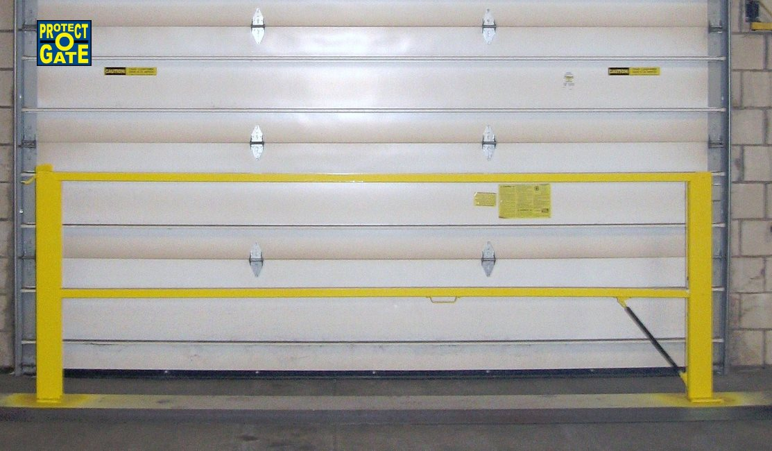 Loading dock gates loading bay fall protection equipment loading protect o gate loading dock industrial safety gates sciox Image collections