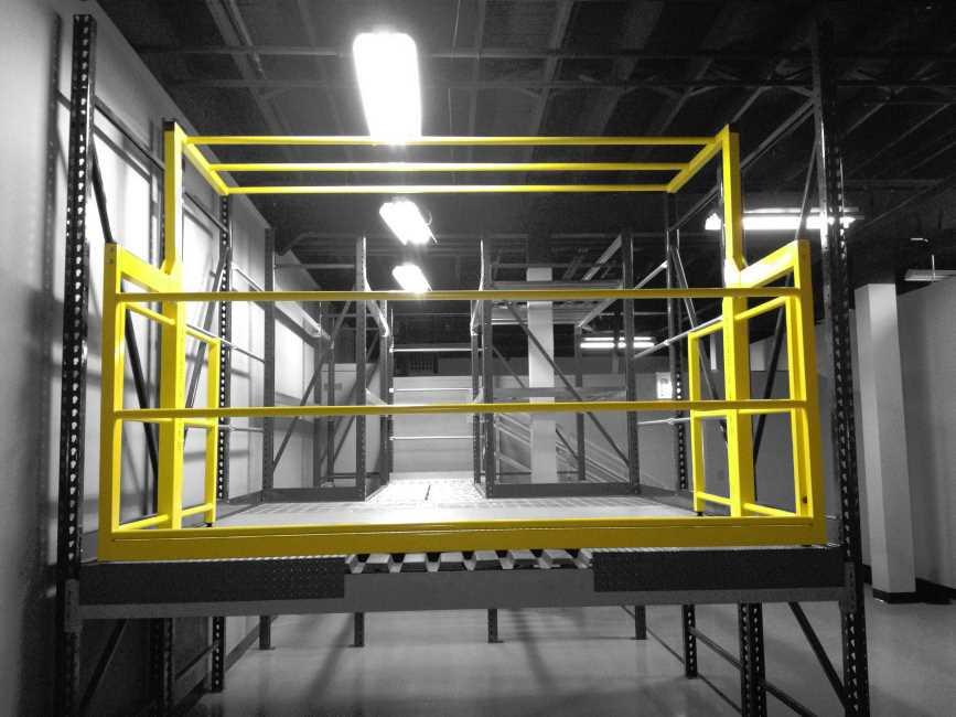 Protect O Gate Pivot Gate Model Mezzanine Safety Gate