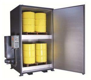 'Sahara Hot Box' Model Ev8 Electric Drum Heater