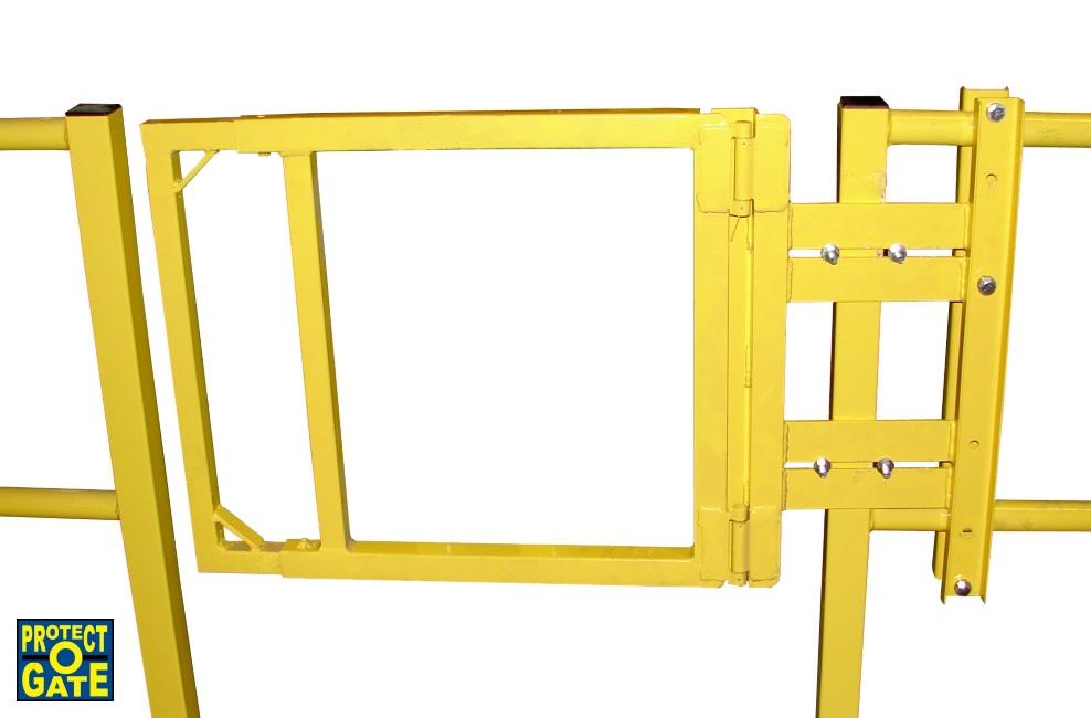 Self closing swing gates industrial gate