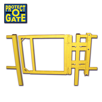 self-closing-industrial-swing-gate-yellow