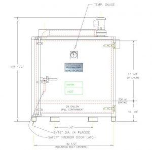 Model S2 - Steam Drum Heater