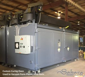 Custom curing oven by Benko Products