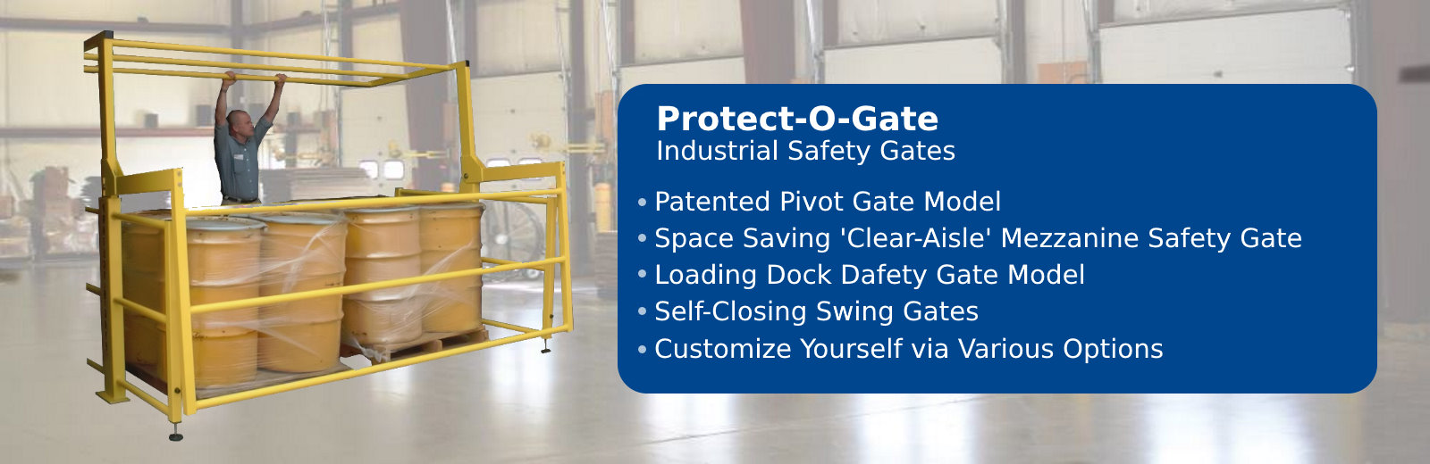 Industrial Safety Gates by Benko Products