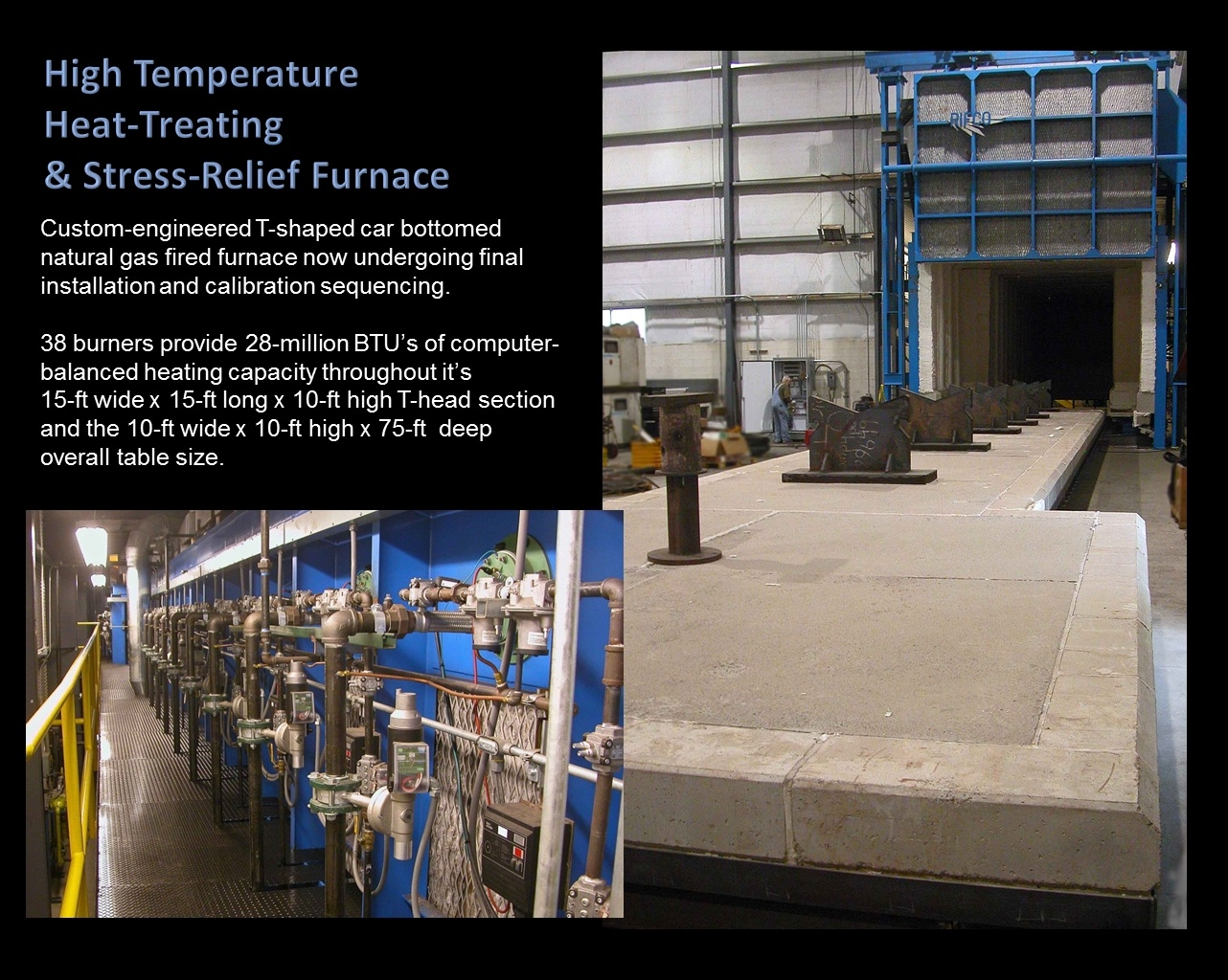 Car-Bottom Furnace Specifications